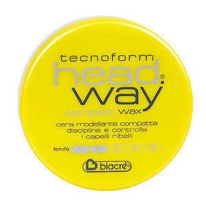 Cera per capelli Compact Wax Compatta Head Way Biacrè 125 ml