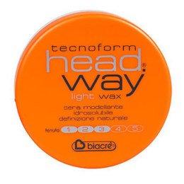 Cera per capelli Light Wax tenuta leggera Head Way Biacrè 125 ml