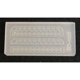 3D Nail Art Mold stampino in silicone art. 0628