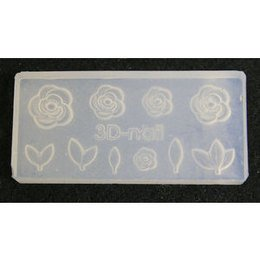 3D Nail Art Mold stampino in silicone art. 0629