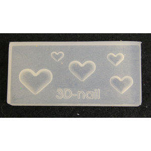 3D Nail Art Mold stampino in silicone art. 0634