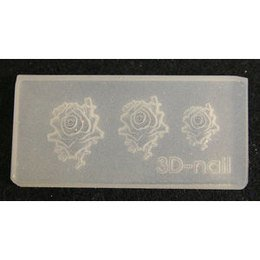 3D Nail Art Mold stampino in silicone art. 0635