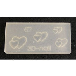 3D Nail Art Mold stampino in silicone art. 0656