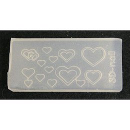 3D Nail Art Mold stampino in silicone art. 0667