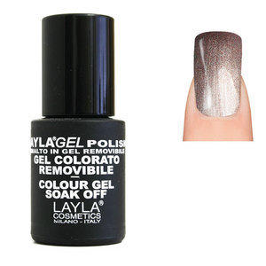 LaylaGel Polish Gel Colorato nr 75 Pink Gold 10 ml