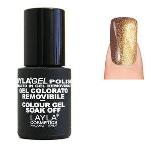 LaylaGel Polish Gel Colorato nr 76 Golden Power 10 ml