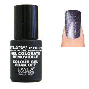 LaylaGel Polish Gel Colorato nr 79 Violet Gloss 10 ml