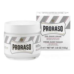 Crema Pre Barba Anti Irritazione Proraso Linea Bianca vasetto 100 ml.