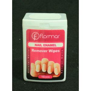 Nail Enamel Remover Wipes 160pz
