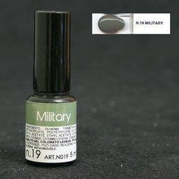 Miss 20 Gelpolish N019 Military  5ml new