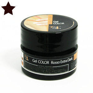 Evolution Timi Nails Gel Color Rosso Extra Dark 7 ml