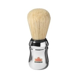 Pennello da barba professionale in pura setola Omega 10083