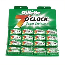 Lametta da barba Gillette 7 o?clock Super Stainless Verde stecca 20 pc.
