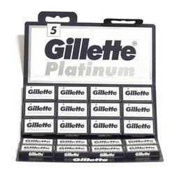 Lametta Gillette Platinum Plus Stecca 20 pacchetti