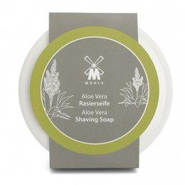 Muhle Ciotola Ceramica Bianca + Sapone 65 gr Aloe Vera