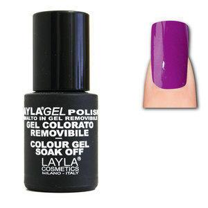 LaylaGel Polish Gel Colorato nr 86 Pure Grape 10 ml