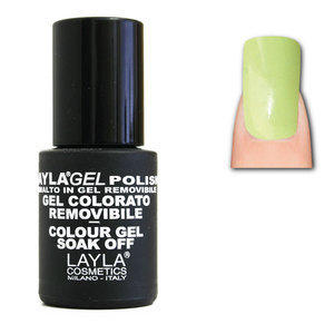 LaylaGel Polish Gel Colorato nr 90 Acid Green 10 ml