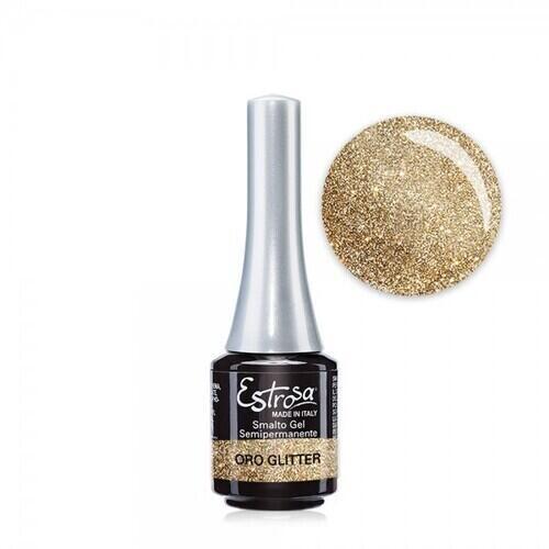 Smalto Gel 7500 Glitter Oro Estrosa 7 ml