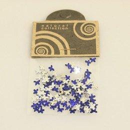 Brillantino Natural Collection fiocco blu bustina