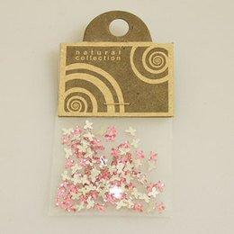 Brillantino Natural Collection fiocco rosa bustina