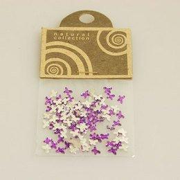 Brillantino Natural Collection fiocco viola bustina
