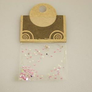 Brillantino Natural Collection rotondo piccolo rosa chiaro bustina