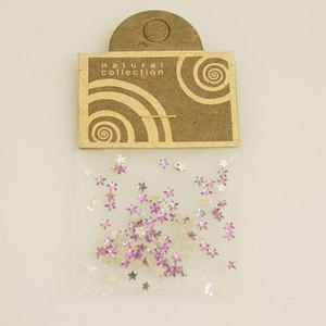 Brillantino stella lilla Natural Collection bustina