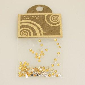 Brillantino stella oro Natural Collection bustina