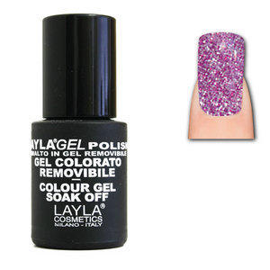 LaylaGel Polish Gel Colorato nr 94 Pinky lights 10 ml