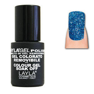 LaylaGel Polish Gel Colorato nr 96 Blue Skies 10 ml