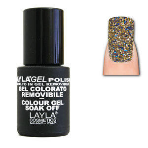 LaylaGel Polish Gel Colorato nr 99 Brownie Shine 10 ml