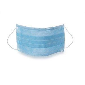 Mascherina TNT 3 veli con elastico e stringinaso 50 pz