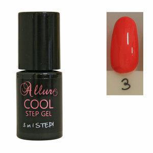 Smalto Semipermanente One Step Allur Cool Step Gel 03 6 ml