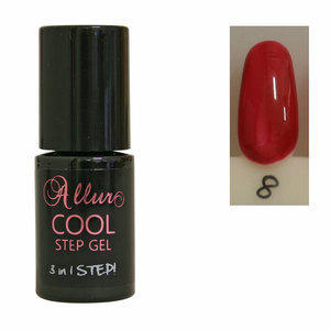 Smalto Semipermanente One Step Allur Cool Step Gel 08 6 ml