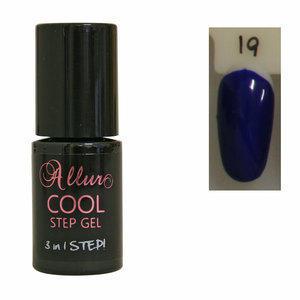 Smalto Semipermanente One Step Allur Cool Step Gel 19 6 ml