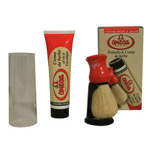 Kit Pennello + Crema da Barba Omega 45165