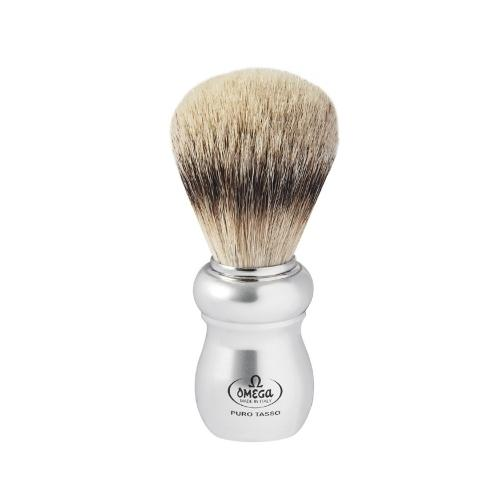 "Pennello da barba in tasso Super ""ERGAL"" Omega 6652"