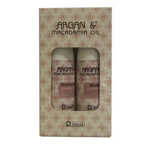 Kit Shampoo 100ml + Maschera 100ml Argan Macadamia