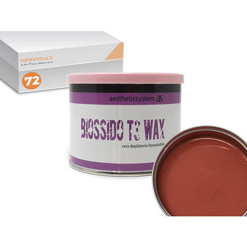 Cera epilazione Biossido T3 Wax liposolubile 72 vasetti da 400 ml. cad.