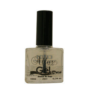 Smalto Effetto Gel Base e Top CR01 Allur 10 ml