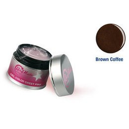 Gel Color Brown Coffee 8 ml Roby Nails