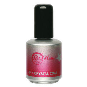 Pink Crystal Coat 15 ml Roby Nails