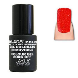 LaylaGel Polish Gel Colorato nr 101 Save the Last Red 10 ml