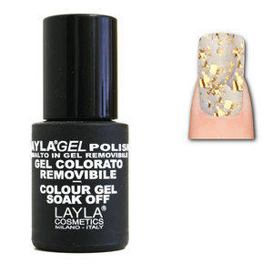 LaylaGel Polish Gel Colorato nr 107 Pure Bronze Top Coat 10 ml