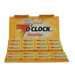 Lamette Gillette 7 O'Clock Sharp Edge stecca da 20 pacchetti
