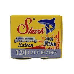 Lamette Shark Saloon Half Blades 1 pacchetto da 100 mezze lame