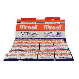 Lamette Treet Platinum premium quality stecca da 20 pacchetti