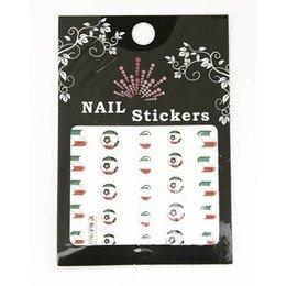 Nail Stickers Mondiali Calcio BLE1650