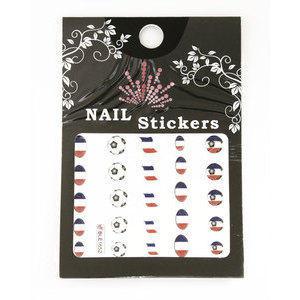Nail Stickers Mondiali Calcio BLE1652