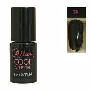 Smalto Semipermanente One Step Allur Cool Step Gel 28 6 ml